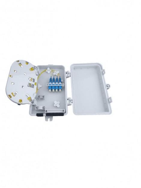Wall Mount Fiber Optic Termination Patch Panels - Fibertronics