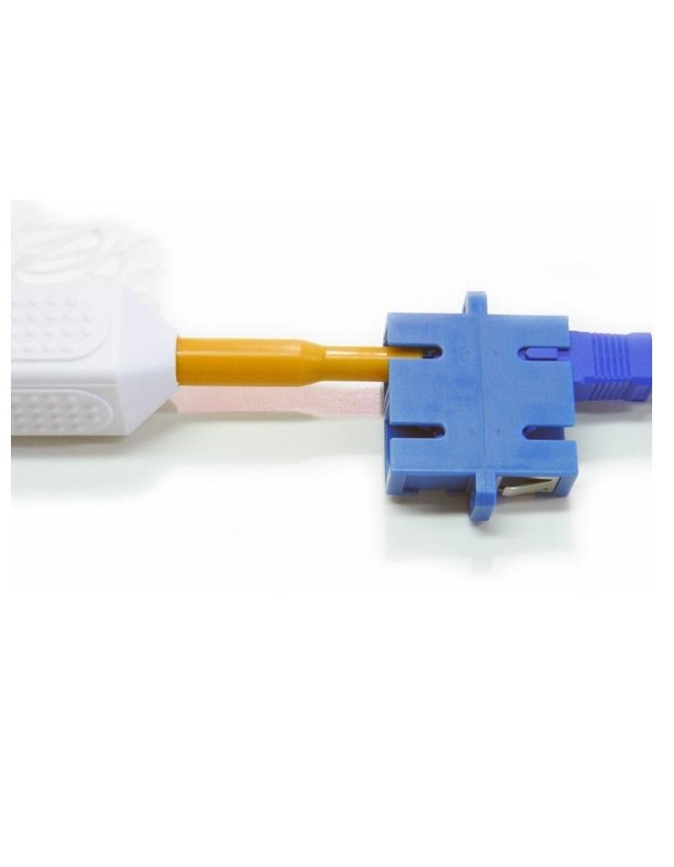 Fiber optic cleaner pen for SC, FC, ST, LC, MU connectors, adapters 1