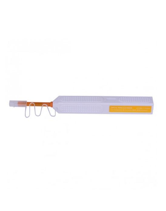 Fiber optic cleaner pen for SC, FC, ST, LC, MU connectors, adapters