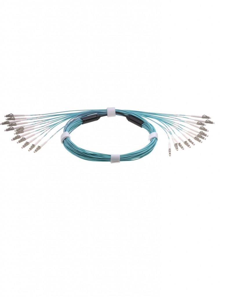 PRE-Terminated fiber optic cable SM MM OM2, OM3