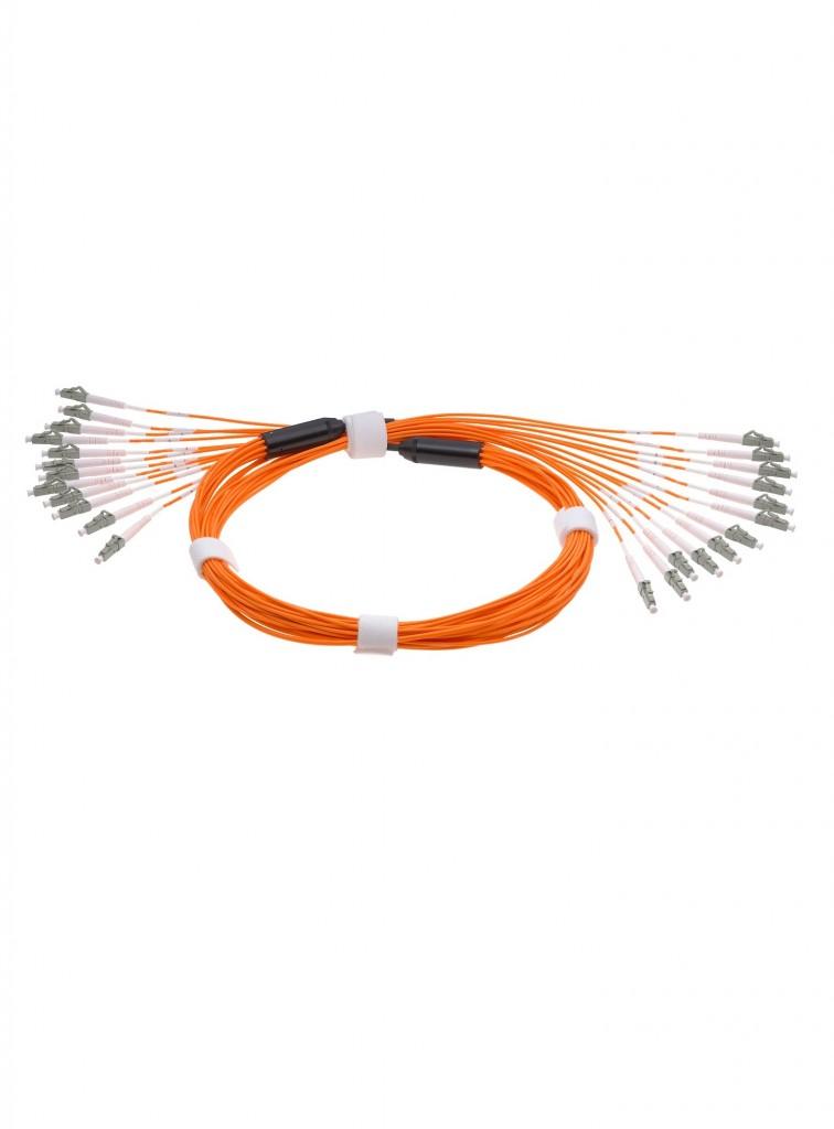 PRE-Terminated fiber optic cable SM MM OM2, OM3, OM4