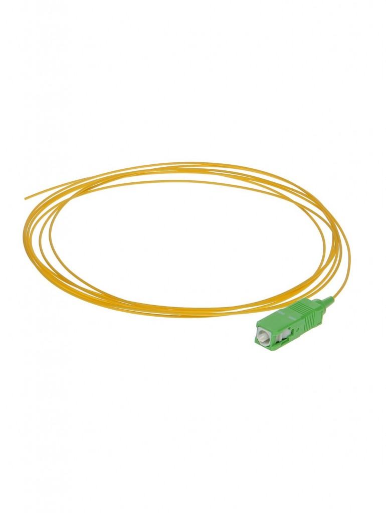 Pigtail SC APC SM Yellow