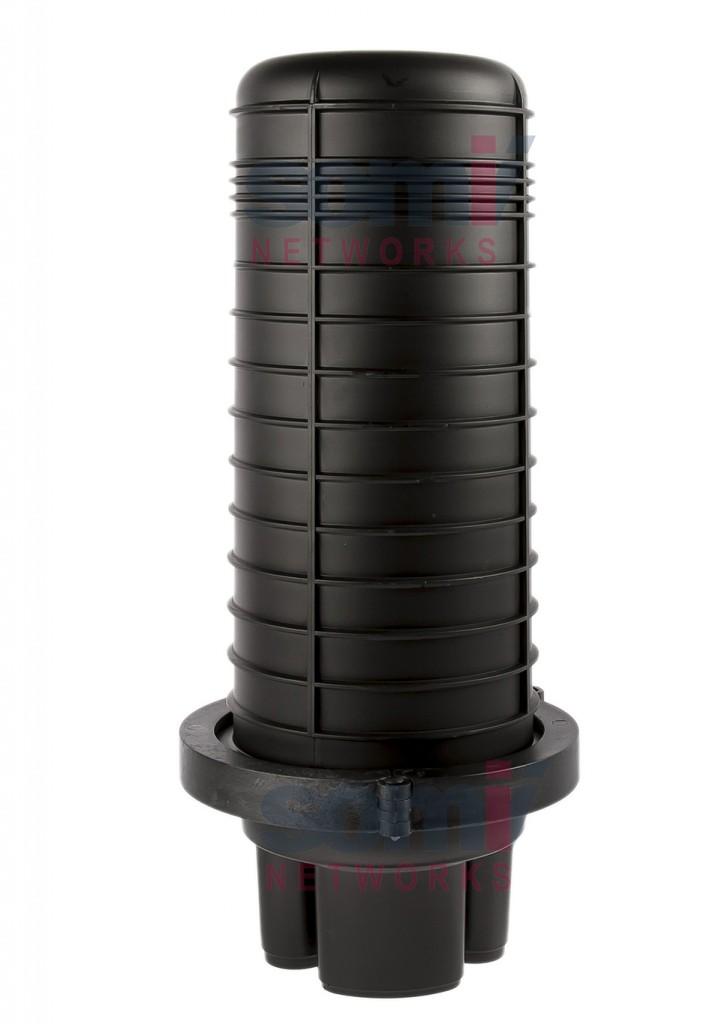 SC-224 FIber optic closure dome type vertical 120 fibers 3