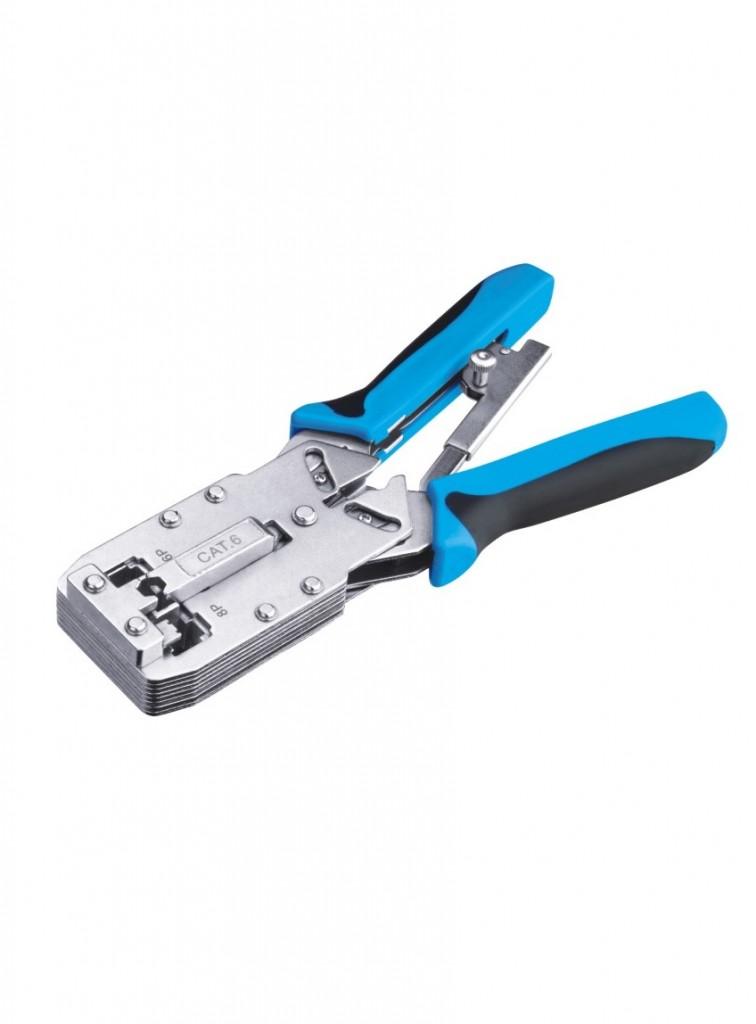 SN12810R Crimping tool RJ45 RJ11 jungciu uzspaudimo reples