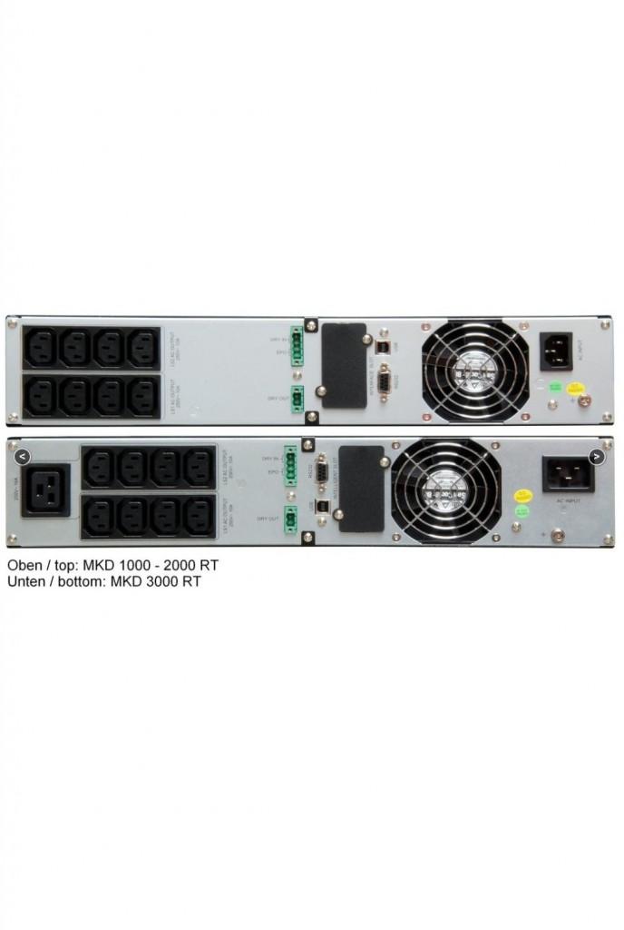 MKD-RT UPS 700VA, 1000VA, 1500VA, 2000VA, 3000VA -3