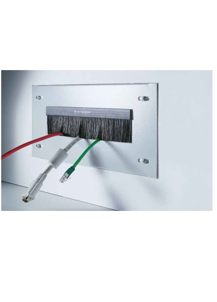 Cabinet Cable entry Brush 2