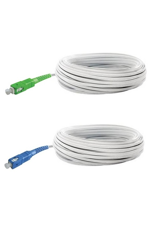 Ftth Patch cord white SC APC G657A UPC G.657.A1