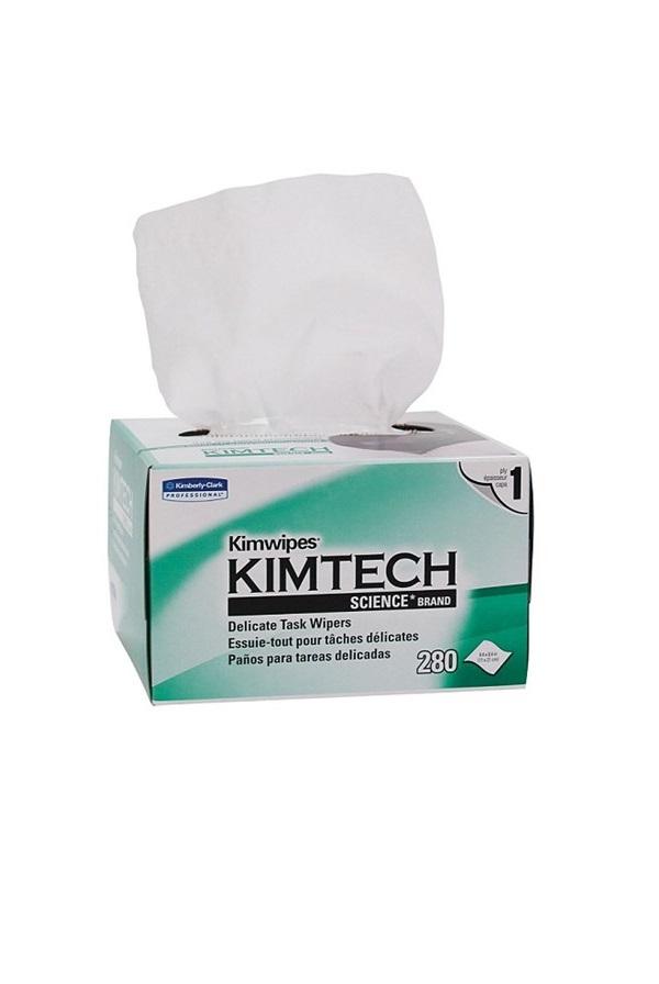 Kimtech wipes non alkohol fiber cleaning serveteles optikos valymui