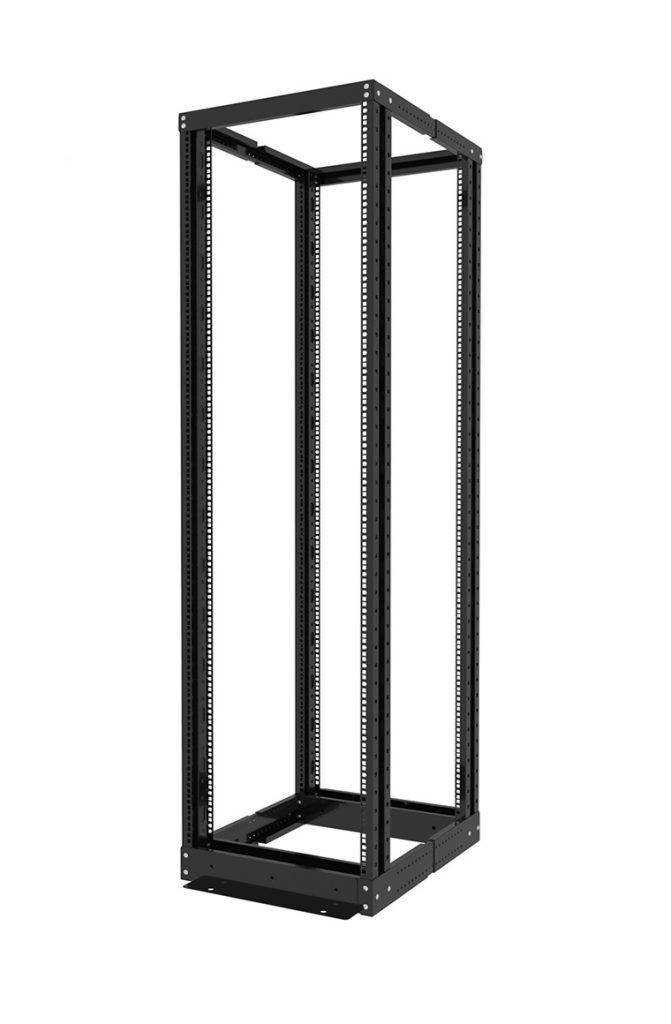 Open frame four post rack 18U, 22U, 27U, 32U, 37U, 42U, 45U, 47U -2