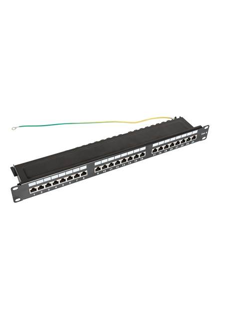ccas-pa6-24stp-0-2 securitynet patch panel STP 24 port screened 3