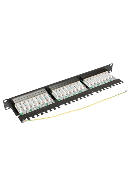 ccas-pa6-24stp-0-2 securitynet patch panel STP 24 port screened
