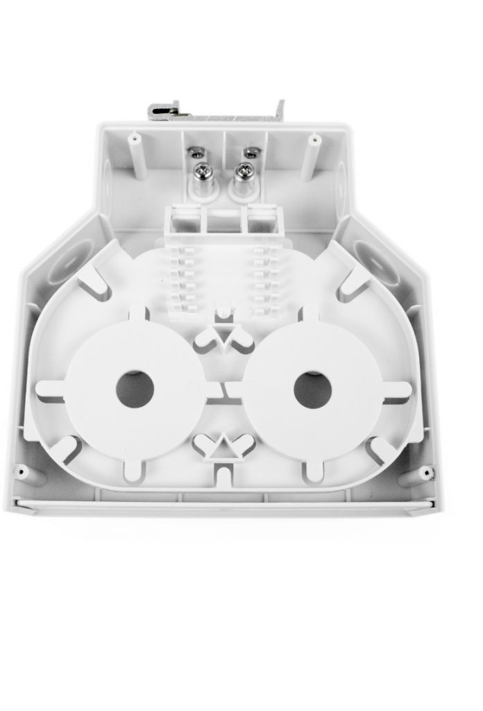 DIN mount fiber box ST SC connector